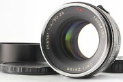 [ Mint W/ Hood ] Carl Zeiss Planar 50mm F/1.4 T Zs Lens For M42 From Japan