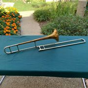 Olds Super Bb Trombone Plays Sounds Good With Fluted Slide Sn 19109 Los Angeles
