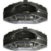 Set-ac1722614-f Ac Delco 2-wheel Set Brake Calipers Front Driver And Passenger New