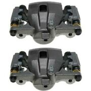 Set-ac1722648-f Ac Delco Brake Calipers 2-wheel Set Front Driver And Passenger New