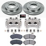 Kcoe5259a Powerstop Brake Disc And Caliper Kits 2-wheel Set Front New For Rodeo