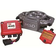 2910 Msd Fuel Injection Kit Gas New