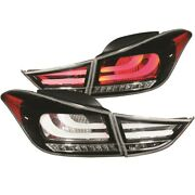 321298 Anzo Set Of 2 Tail Lights Lamps Driver And Passenger Side New Lh Rh Pair