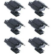 Set-wkp9201011-6 Walker Products Ignition Coils Set Of 6 New For Bronco Country