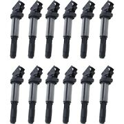 Set-wkp9212098-12 Walker Products Set Of 12 Ignition Coils New For 325 330 525