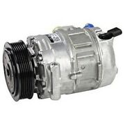 471-1497 Denso A/c Ac Compressor New For Vw With Clutch Volkswagen Beetle Jetta