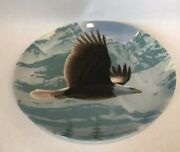 The Bald Eagle 1988 By Daniel Smith Collector Plate Bradford Exchange Knowles