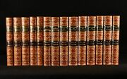 1857-69 14vol Historical Works Thomas Carlyle Mrs Uwins First Edition Leather...