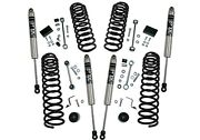 18-19 For Jeep Wrangler Jl Unlimited 2.5in Dual Rate Coil Lift Kit- Incl Rubicon