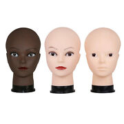 Pvc Female Mannequin Head Model, Can Be Used On A Flat Surface To Practice