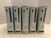 Xbox 360 Console Lot Of 5 For Parts Or Repair Untested - As Is