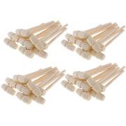40pcs Lots Mini Natural Wood Mallets Wooden Hammers For Carving Stamping Crafts