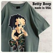 Vintage 90's Betty Boop Girl's Rule Changes Tee T Shirt Size Large Made In Usa