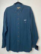Nwt Vintage Apple Macintosh Button Long Sleeve Shirt Gear For Sports Mens Large