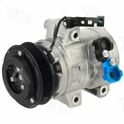 98488 4-seasons Four-seasons A/c Ac Compressor New With Clutch For Ford Focus