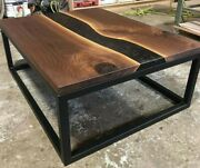 48 X 48 Epoxy Resin Center / Coffee Table Top Resin Wooden Home Furniture