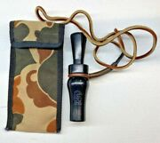 Rich N Tone Du1992 Single Reed Duck Call With Carry Case And Leather Lanyard