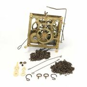 Lyre Cuckoo Clock 30hr Movement W/chains And Hands Antique - Rc60