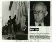 Press Photo Robert Morgentahau Featured In The Bank Of Crooks And Criminals