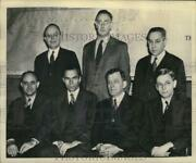 1947 Press Photo Atomic Energy Commission Advisory Committee Members Meet In Dc
