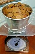 1000 Unsearched Wheat Pennies Copper Mixed Date And Mint Lincoln Cents, 👀