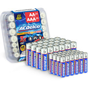 Acdelco Aa And Aaa Batteries 48-count Combo Pack Alkaline Battery 24 Count