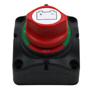 12v/24v Dual Battery Selector Switch Off 3 Speed Disconnect Switch Marine Rv