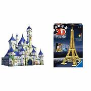 Ravensburger Disney Castle 216 Piece 3d Jigsaw Puzzle For Kids And Adults And E...