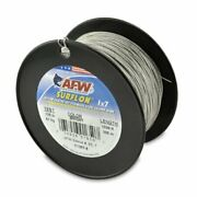 American Fishing Wire Surflon Nylon Coated 1x7 Stainless Steel Leader Wire Br...