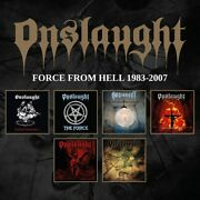 Onslaught - Force From Hell 1983-2007 6cd-box 6cd Neu Ovp