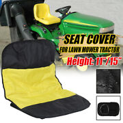 Riding Lawn Mower Seat Cover Durable 600d Polyester Oxford Tractor Seats