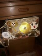 Rare And Hard To Find Authentic Coach Goldy Purse Wristlet New With Tags