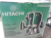Older Hitachi M12v Variable Speed Router With Box Collet Edge Guide Wrench...