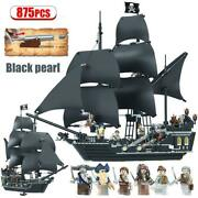 Pirates Of The Caribbean Black Pearl Lego Lego Block Compatible 875