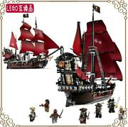 Pirates Of The Caribbean Red Black Pearl Lego Lego Block Compatible