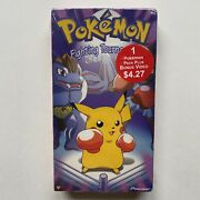 New Pokemon Fighting Tournament Factory Sealed Authentic Vol.10 1999 Vhs Pikahcu