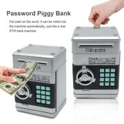 Electronic Security Piggy Bank Money Box Cash Coin Savings Atm Machine For Kids