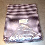 Longaberger J.w. Miniature Plaid Fabric 5-yards Yds Made In Usa New In Bag
