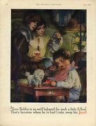 Your Bobby Is So Well Behaved For Such A Little Fellow Jell-o Ad 1926 Linn Ball
