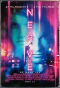 Nerve 2016 29644 Movie Poster 27x40 Rolled Double-sided Emma Roberts Dav