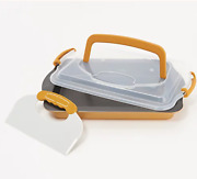 Berghoff - Perfect Slice 13 X 9 Pan W/ Carry Lid And Cutting Tool