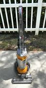 Dyson Dc25 All Floors Orange Upright Ball Corded Vacuum Cleaner Works