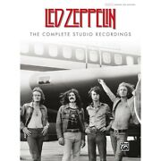 Led Zeppelin The Complete Studio Recordings Hardcover Authentic Guitar Tab Edit