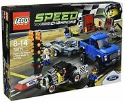 Lego Speed Champions Ford F-150 Raptor And Ford M Odel A Hot Rod 75875 F/s Wtrack