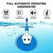 Paxcess Pool Vacuum Cleaner Automatic Suction Climbing Wall Pool Vacuum Sweep...