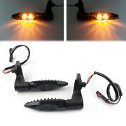 Led Rear Turning Signal Blinker Amber Lamp Smoke For Bmw F800 Gs/r/s S100r Hp4