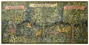 Classic Verdure William Morris Tapestry Wall Hanging Wood Forest Animals 127x58
