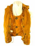 British Raf Aircrew Lifejacket Mae West 1960and039s Vintage W/ Bladder And Whistle