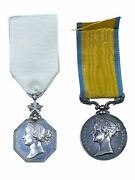 British Victorian Arctic Medal Named Officer Hp Bance With Baltic Full Size