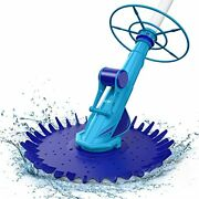 Suction Pool Vacuum Cleaner, Climb Wall Suction-side Cleaner Automatic Pool